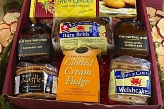 Box of Welsh Treats Hamper